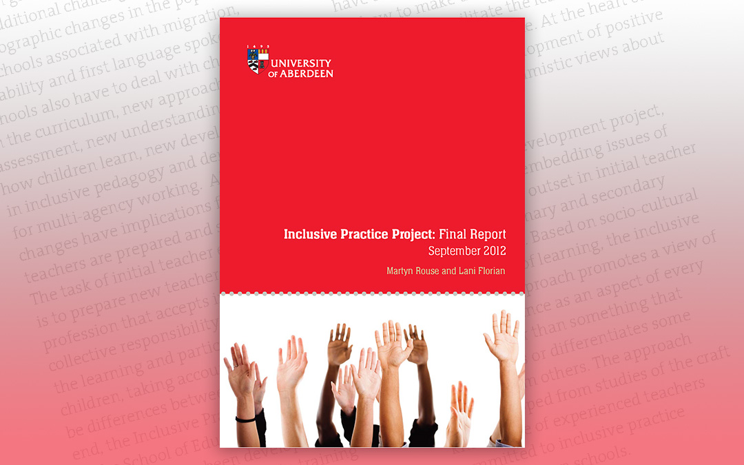 Inclusive Practice Project: Final Report