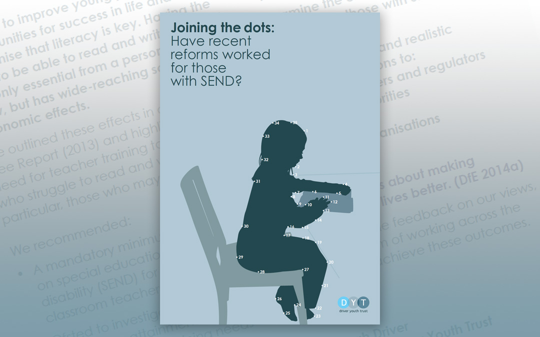 Joining the dots: Have recent reforms worked for those with SEND?