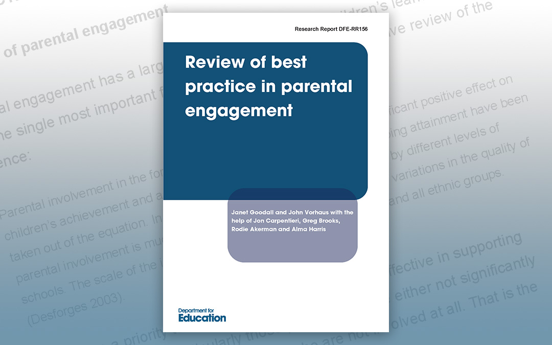 Review of best practice in parental engagement