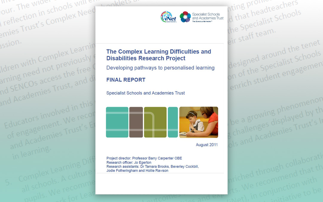 The Complex Learning Difficulties and Disabilities Research Project
